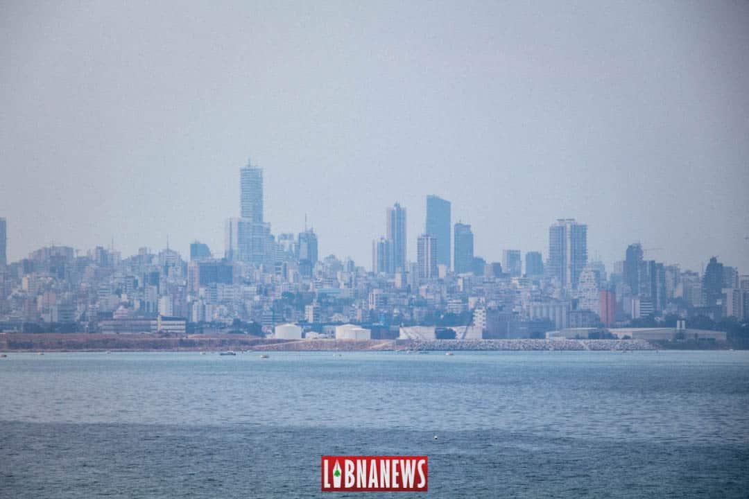 Vue de Beyrouth, depuis le littoral. Crédit Photo: François el Bacha. Tous droits réservés.