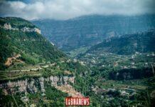 La vallée de Nahr Brahim au Liban. Crédit Photo François el Bacha pour Libnanews.com. Tous droits réservés.
