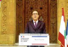 L'ancien Ambassadeur de France au Liban, Bruno Foucher